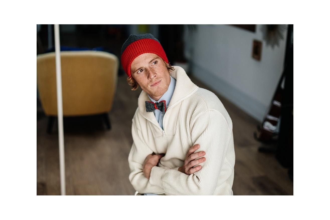 Assortir son bonnet et son noeud pap' : le comble de la classe ?