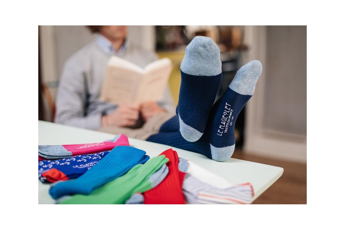 Chaussettes unies : enfin de la couleur à vos chevilles